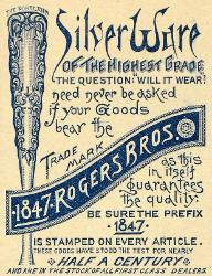 1892 Ad - 1847 Rogers Bros.