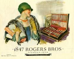 1926 Ad - 1847 Rogers Bros.