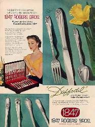 1952 Ad - 1847 Rogers Bros.