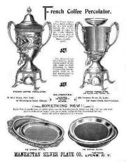 1894 Manhattan Silver Plate Co. Ad