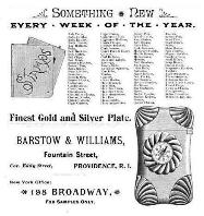 1892 Barstow & Williams Ad