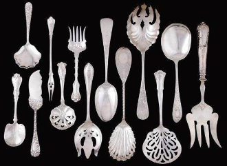 Sterling Flatware Pattern Index